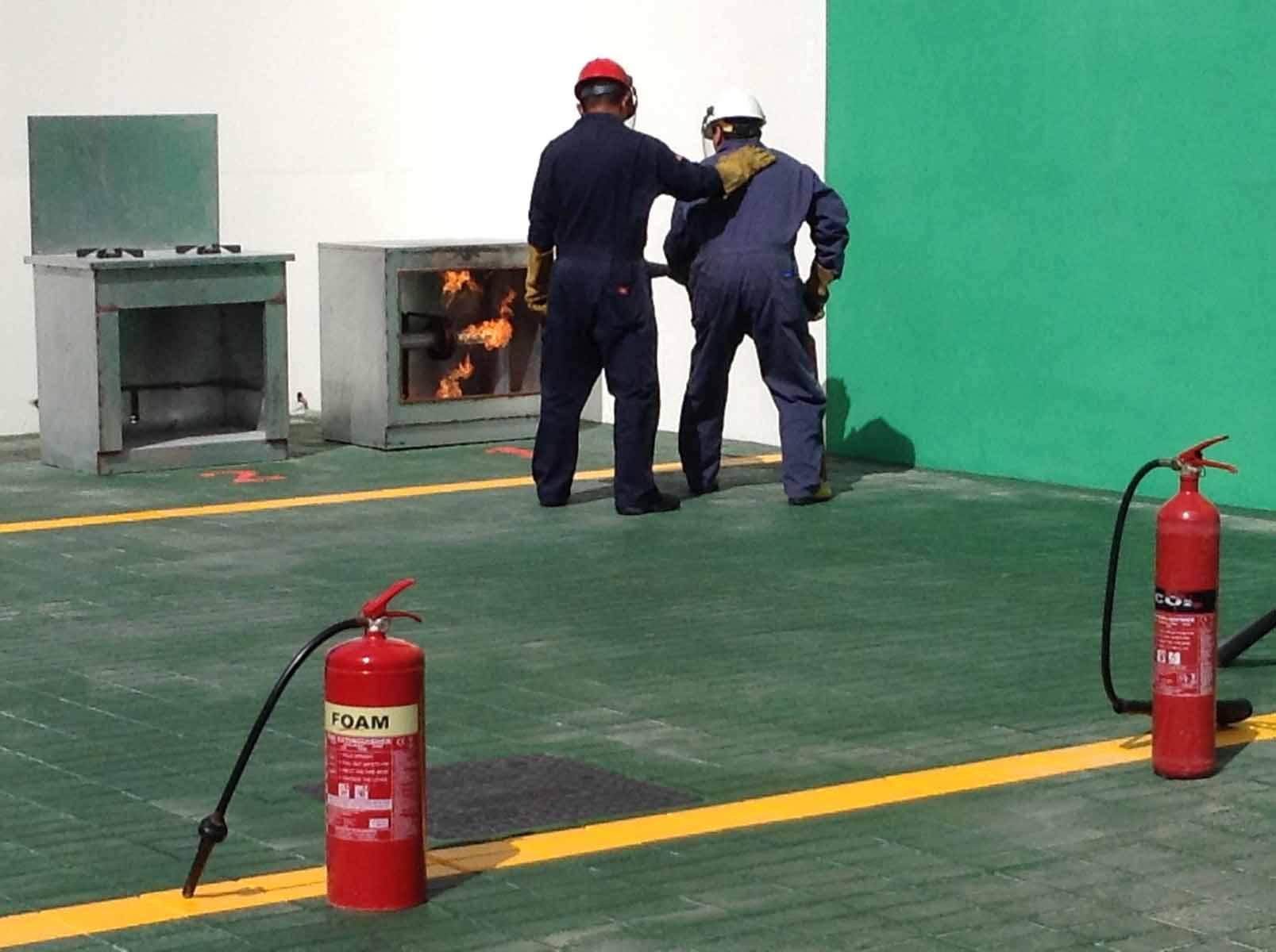 Basic Fire Fighting|Training Provider in Doha,Qatar|Enertech